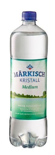 Märkisch Kristall Mineralwasser Medium