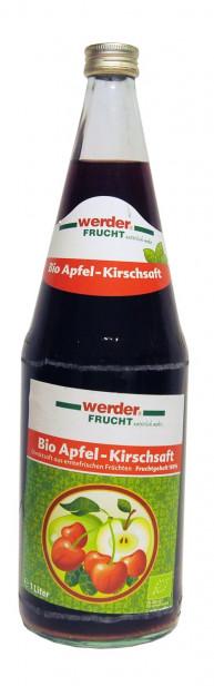 Werder Frucht Bio Apfel-Kirschsaft