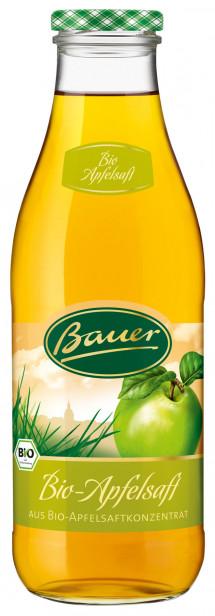 Bauer BIO Apfelsaft klar