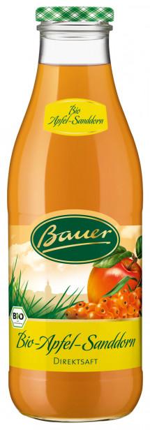 Bauer BIO-Apfel-Sanddornsaft