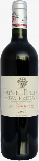 """Saint Julien AOC """"Privat Reserve"""""""
