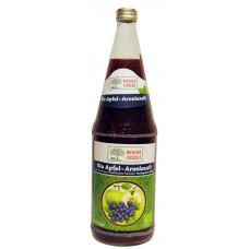 Werder Frucht Bio Apfel-Aroniasaft